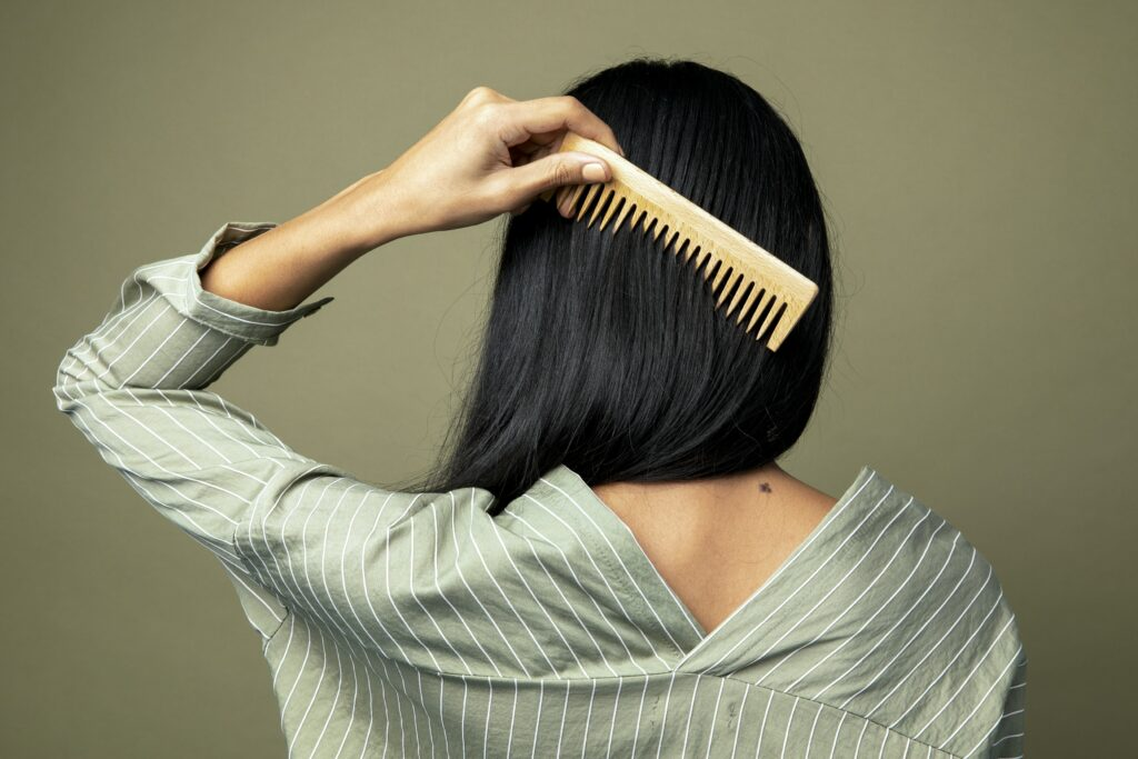 Combing for Healthier Hair
