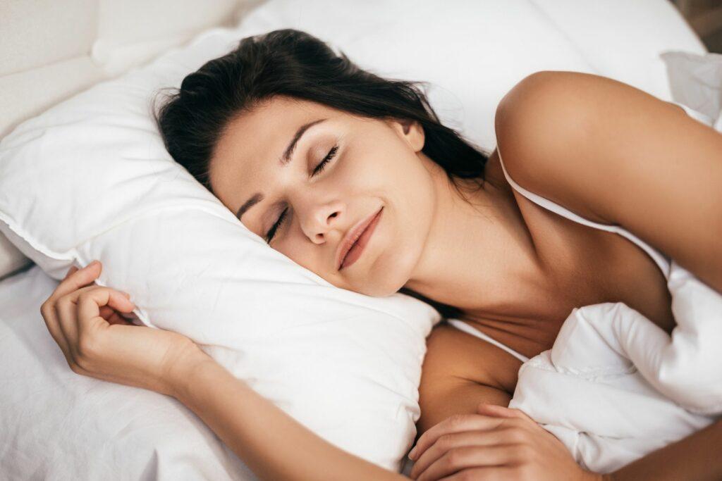 Beauty Sleep on Silk Pillow Case