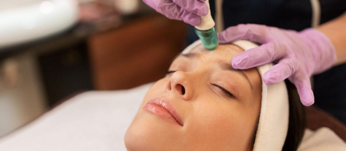 Microneedling Session in Orange County